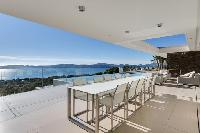 awesome view from Grimaud - La Grande Bleue luxury apartment