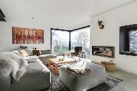 generous windows of French Alps - L'Hermine luxury apartment