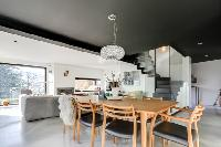 delightful dining room of French Alps - L'Hermine luxury apartment