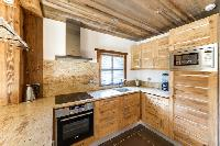 delightful kitchen of French Alps - Le Diamant luxury apartment