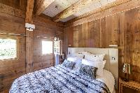 charming bedroom of French Alps - Le Diamant luxury apartment