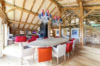 amazing dining area of French Alps - Le Diamant luxury apartment