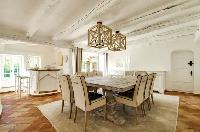 delightful dining room of Saint Raphael - Villa Valescure luxury apartment