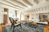 awesome ceiling beams of Saint Raphael - Villa Valescure luxury apartment