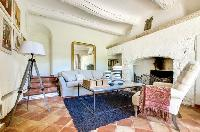 awesome living room of Saint Raphael - Villa Valescure luxury apartment