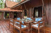 cool patio of Thailand - Ban Sairee luxury apartment, holiday home, vacation rental