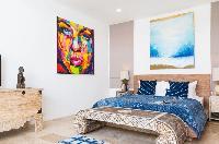 fresh bed sheets in Thailand - Villa Suma luxury apartment, vacation rental