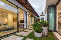 pretty patio of Thailand - Villa Suma luxury apartment, vacation rental