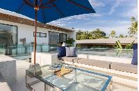 cool patio of Thailand - Villa Suma luxury apartment, vacation rental