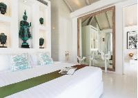 pristine bedding in Thailand - Villa Mia luxury apartment, vacation rental