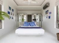 pristine bed sheets in Thailand - Villa Nagisa luxury apartment, vacation rental