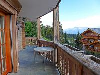 nice balcony of Switzerland - Chanson House luxury apartment, holiday home, vacation rental