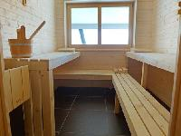 cool sauna at Chalet Woovim House luxury apartment, holiday home, vacation rental