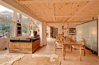 bright and breezy Chalet Heinz Julen Penthouse luxury apartment, holiday home, vacation rental