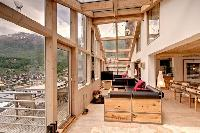breezy and bright Chalet Heinz Julen Penthouse luxury apartment, holiday home, vacation rental