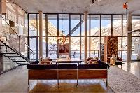 sunny and airy Chalet Heinz Julen Loft luxury apartment, holiday home, vacation rental