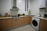 cool modern kitchen of Barcelona - Platinum luxury apartment
