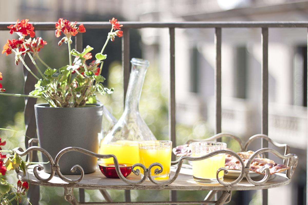 beautiful balcony of Barcelona - Platinum luxury apartment