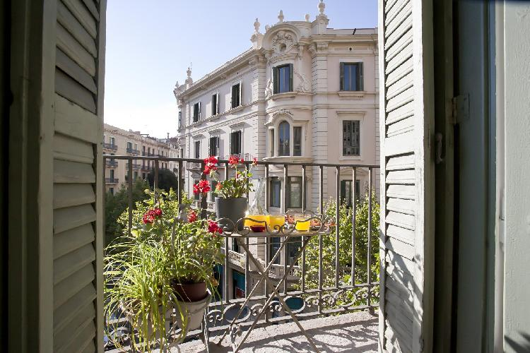 cool view from the balcony of Barcelona - Platinum luxury apartment