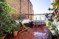 awesome terrace of Barcelona - Penthouse luxury apartment