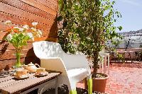 amazing terrace of Barcelona - Penthouse luxury apartment