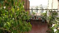 lovely and lush garden terrace of Barcelona - Penthouse luxury apartment