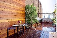 cool balcony of Barcelona - Penthouse luxury apartment