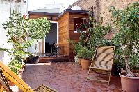 lush and lovely garden terrace of Barcelona - Penthouse luxury apartment