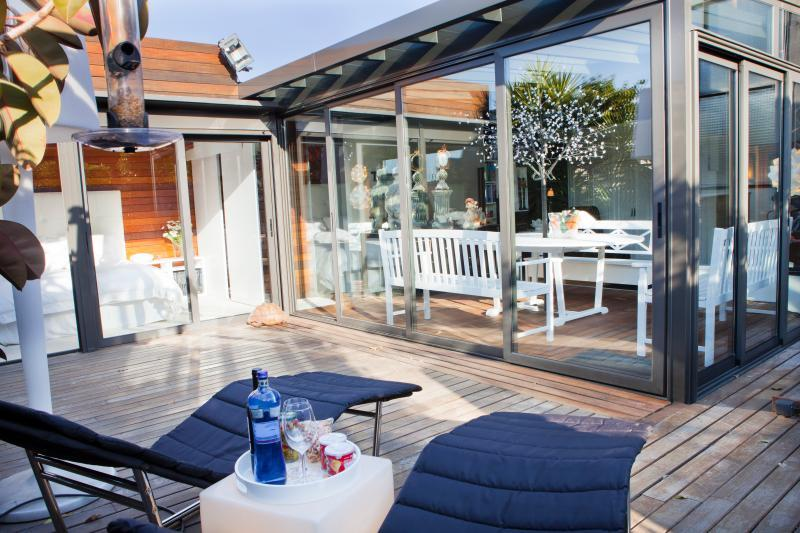amazing roof deck of Barcelona - Terrace 2 luxury apartment