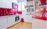 cool modern kitchen of Barcelona - Terrace 3 luxury apartment