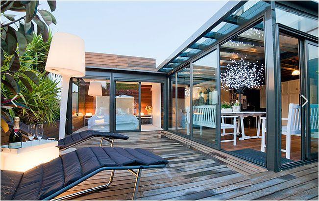fantastic roof deck of Barcelona - Terrace 3 luxury apartment