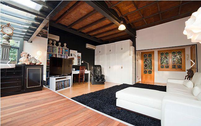 amazing sunroom of Barcelona - Terrace 3 luxury apartment