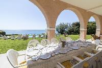 pretty verandah in Saint-Tropez - Reve de Mer luxury apartment