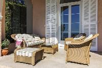 cool patio in Saint-Tropez - Reve de Mer luxury apartment