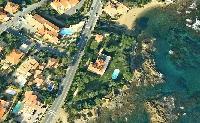 cool aerial view of Saint-Tropez - Reve de Mer luxury apartment