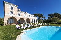 awesome swimming pool of Saint-Tropez - Reve de Mer luxury apartment