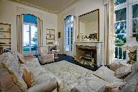 cozy living room of Saint-Tropez - Reve de Mer luxury apartment