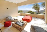 amazing terrace and balcony of Grimaud - Villa Voile d'Argent luxury apartment