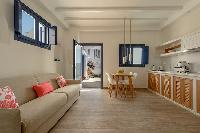 comfy Santorini Sea Dream luxury home, perfect vacation rental