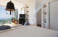 pristine bedroom linens in Thailand - Villa Belle luxury apartment, holiday home, vacation rental