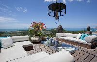 cool verandah of Thailand - Villa Belle luxury apartment, holiday home, vacation rental