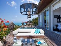 cool balcony of Thailand - Villa Belle luxury apartment, holiday home, vacation rental