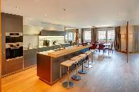 cool modern kitchen of Luxury Apartment Whymper Residence, holiday home, vacation rental