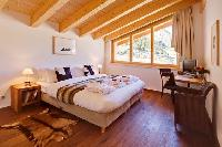 clean bedroom linens in Penthouse Chalet Zeus luxury apartment, holiday home, vacation rental
