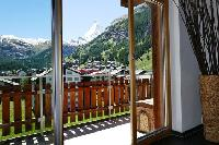 cool balcony of luxury apartment Penthouse Chalet Zora holiday home, vacation rental