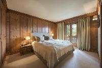 fresh bed sheets in Verbier - Duplex Ivouette luxury apartment, holiday home, vacation rental