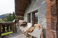 cool balcony of Verbier - Duplex Ivouette luxury apartment, holiday home, vacation rental