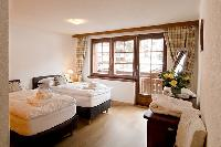 clean bedroom linens in Chalet Venus luxury apartment, holiday home, vacation rental