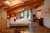clean bedroom linens in Chalet Zermatt Lodge luxury apartment, holiday home, vacation rental