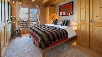 clean bedroom linens in Chalet Sorojasa luxury apartment, holiday home, vacation rental